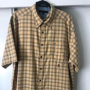 Vintage-Tommy Hilfiger Plaid Button Down sz. XXL